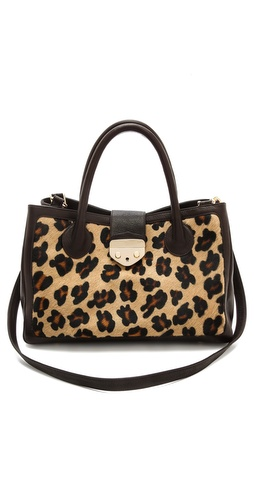 B-Low The Belt Hampton Leopard Satchel at Shopbop / East Dane