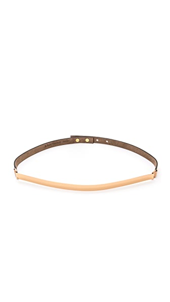 B-Low The Belt Skinny Metal Belt