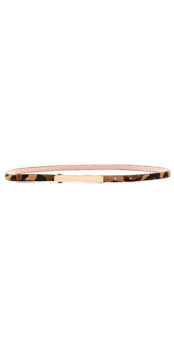B-Low The Belt Skinny Cheetah Belt at Shopbop / East Dane