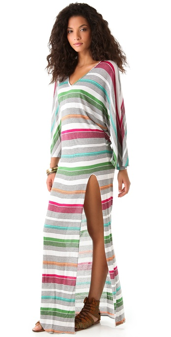Blue Life Beach Bum Stripe Long Dress