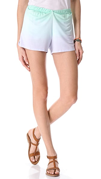 Blue Life Roll Over Shorts
