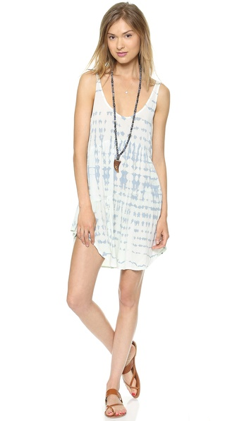 Blue Life Babydoll Tank Dress