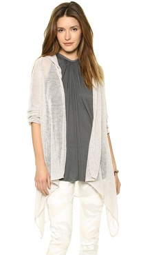 Blue Life Hooded Duster