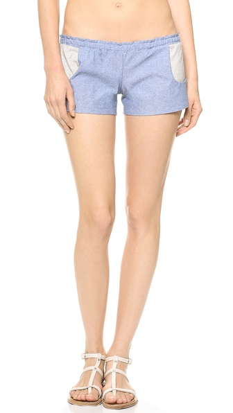 Blue Life Americana Chambray Shorts