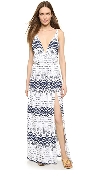 Kupi Blue Life haljinu online i raspordaja za kupiti Blue Life High Tide Maxi Dress Boho Nautical Print online