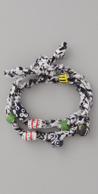 bluma project Adanfo Wrap Bracelets