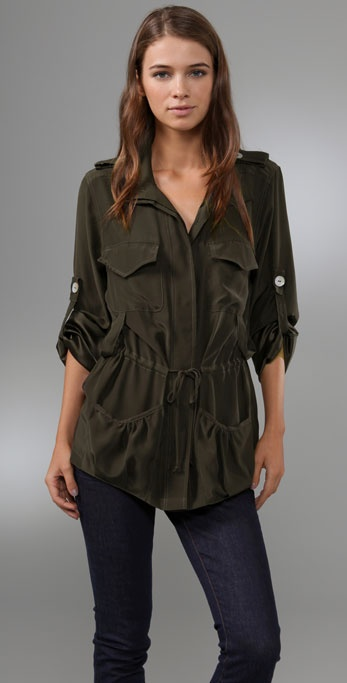 Blu Moon Militant Jacket Blouse