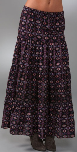 Blu Moon Cantina Diva Long Skirt