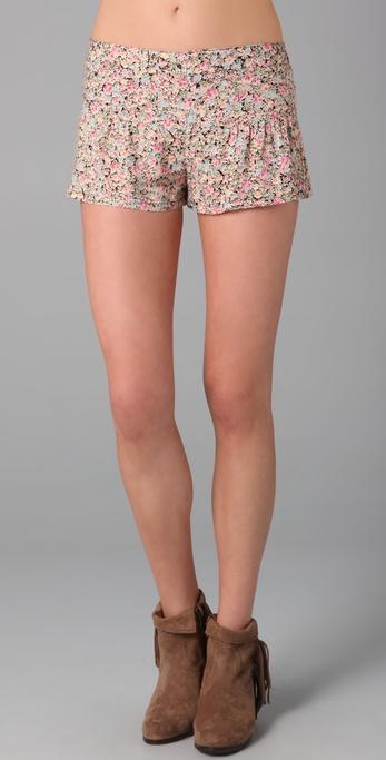 Blu Moon Ruffle Bootie Shorts