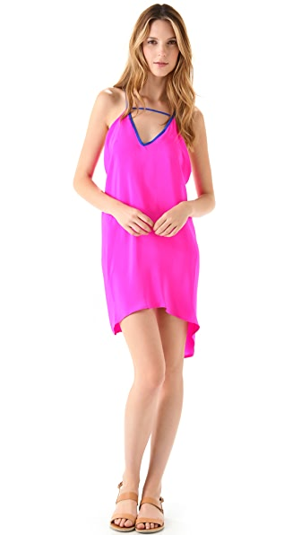 Blu Moon Colorblock Dress