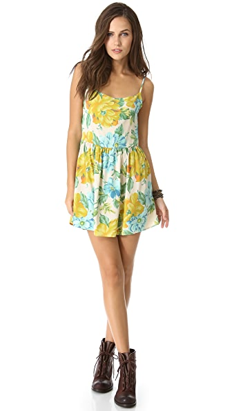 Blu Moon Park Mini Dress