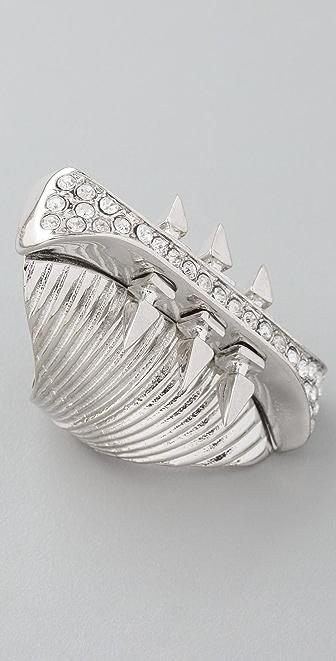 Belle Noel Glam Rock Long Finger Ring