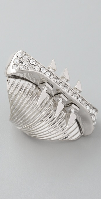 Belle Noel Glam Rock Long Finger Ring