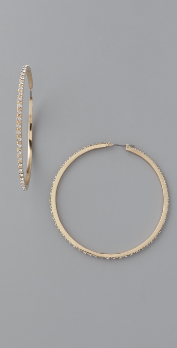 Belle Noel Honey Hoop Earrings