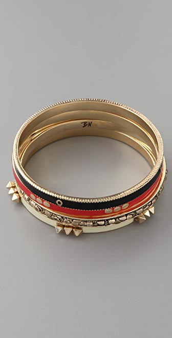 Belle Noel Love Stack Bangle Set