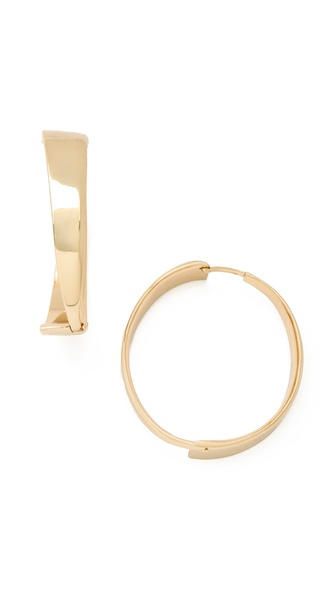 Belle Noel Modernista Hoop Earrings