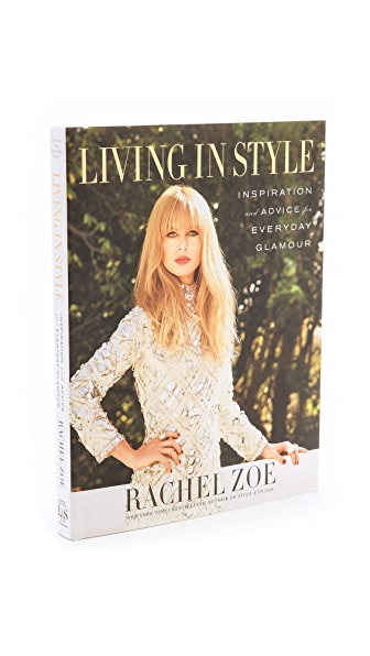 Books with Style Living in Style: Inspiration and Advice for Everyday Glamour