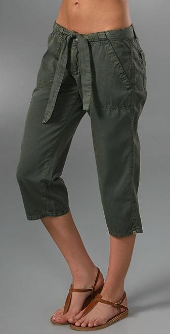 Bop Basics Crop Sash Pant
