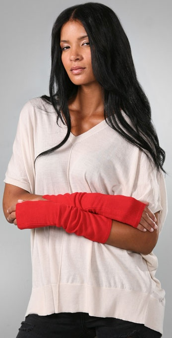 Bop Basics Cashmere Long Fingerless Gloves