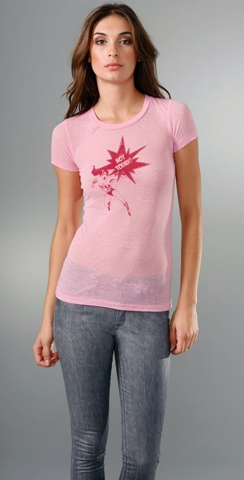 Bop Basics Sophia Bush Breast Cancer Awareness Tee