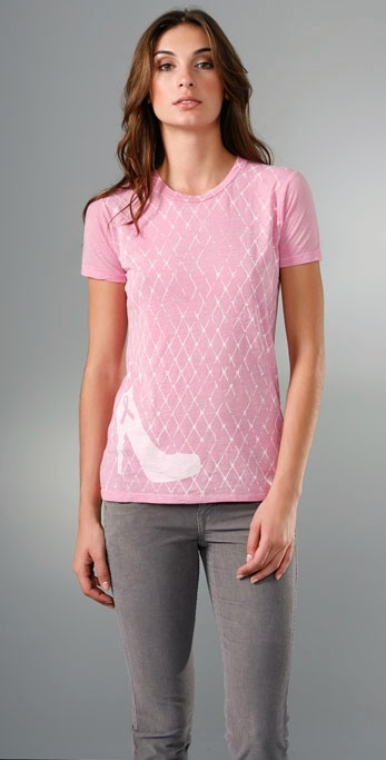 Bop Basics Denise Richards Breast Cancer Awareness Tee