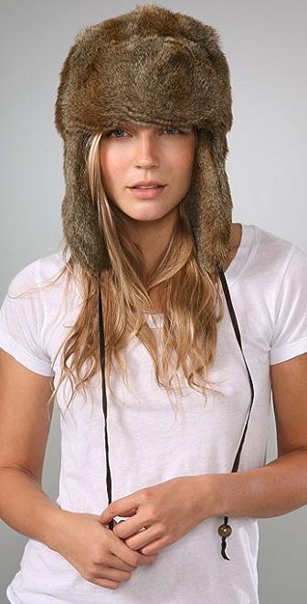 Bop Basics Faux Fur Trapper Hat