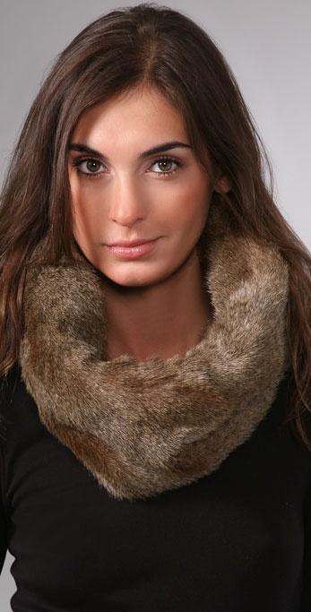 Bop Basics Faux Fur Stole