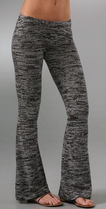 Bop Basics Knit Flare Pants