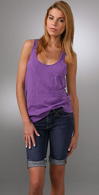 Bop Basics Cotton Slub Racer Tank