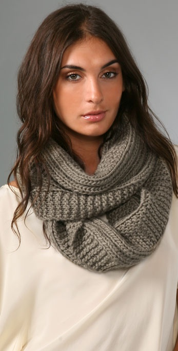Bop Basics Thick Knit Eternity Scarf