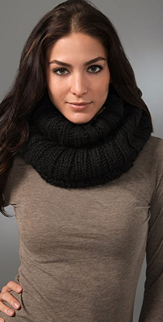 Bop Basics Thick Knit Collar Scarf