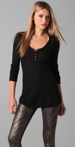 Bop Basics Henley Top