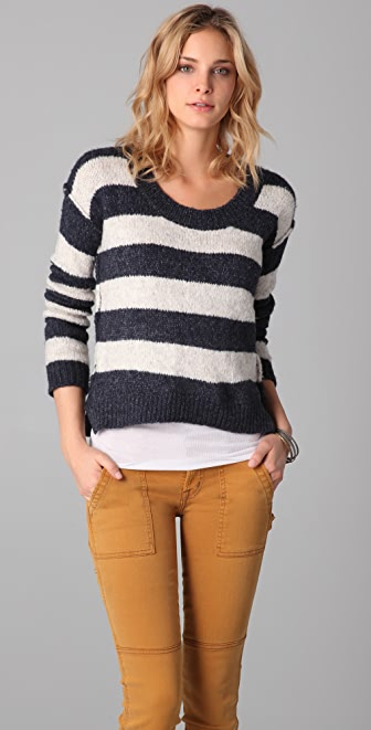 Bop Basics Boat Rocker Sweater