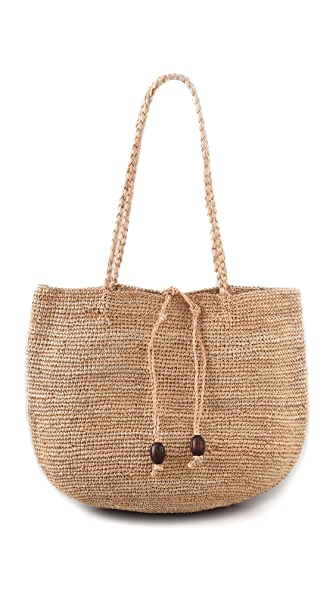 Bop Basics Raffia Carryall Bag