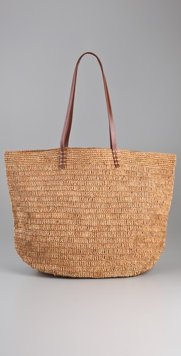 Bop Basics Raffia Tote