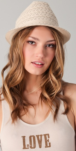 Bop Basics Lace Fedora