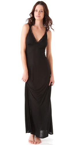 Bop Basics Lace Cross Back Nightgown