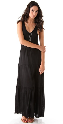 Bop Basics Tiered Maxi Dress