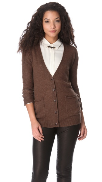 Bop Basics Cashmere Engager Cardigan