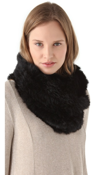 Bop Basics Fur Infinity Scarf