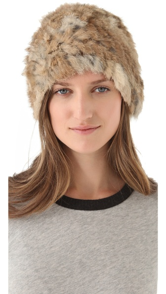 Bop Basics Slouchy Fur Hat