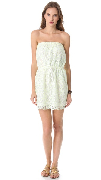 Bop Basics Cassis Mini Cover Up Dress