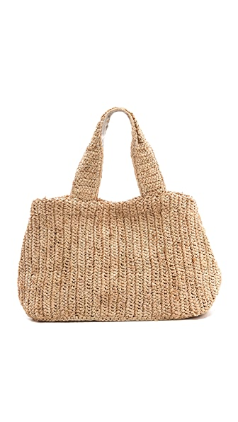 Bop Basics City Straw Tote