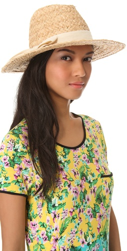 Bop Basics Thick Raffia Continental Hat at Shopbop.com