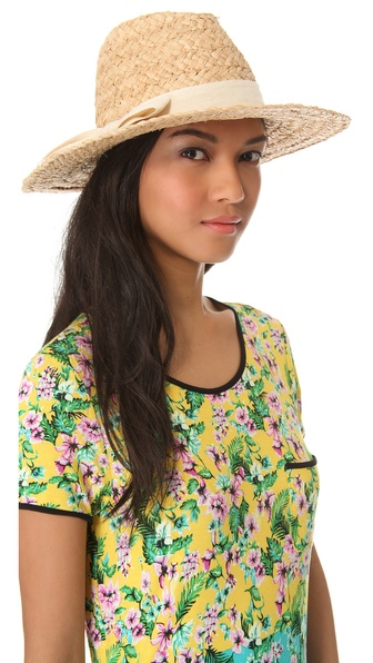 Bop Basics Thick Raffia Continental Hat