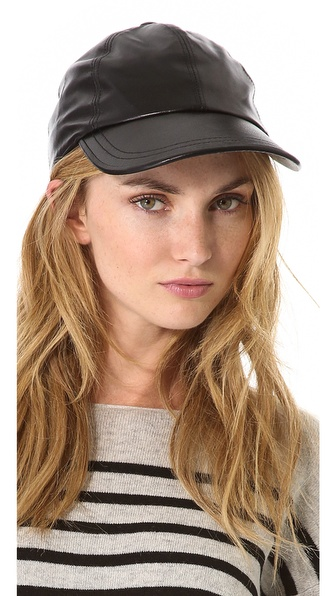 Bop Basics Leather Baseball Hat
