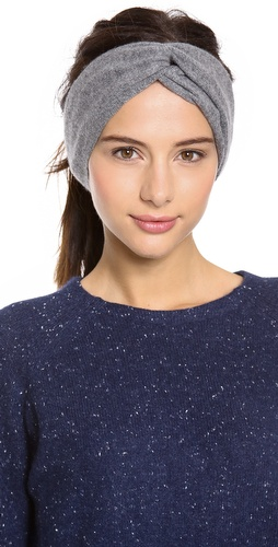 Bop Basics Cashmere Twisted Headband at Shopbop / East Dane