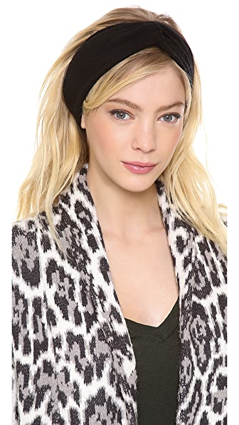 Bop Basics Cashmere Twisted Headband