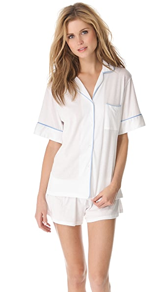 Bop Basics Piped Pajamas Set
