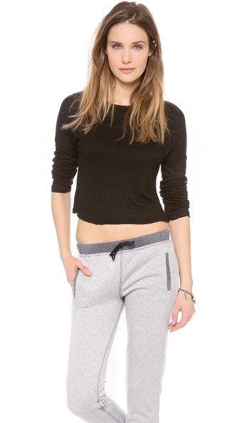 Bop Basics Cropped Long Sleeve Tee